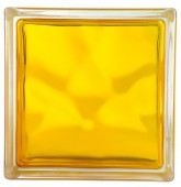 BRILLY Brique de Verre - Jaune - Jaune