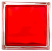 BRILLY Brique de Verre - Rouge - Rouge